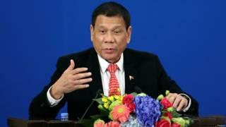 菲律賓總統羅德里戈·杜特爾特(Rodrigo Duterte)
