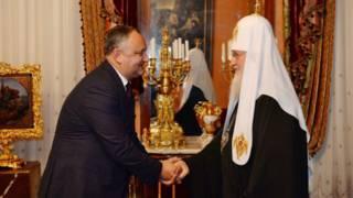 Игорь Додон выступает за дружбу Молдовы с Россией и поддержку православия