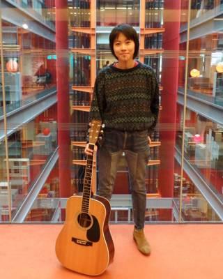 窦靖童做客BBC总部大楼(摄影:子川)