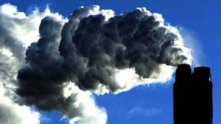 能源站排放的烟雾