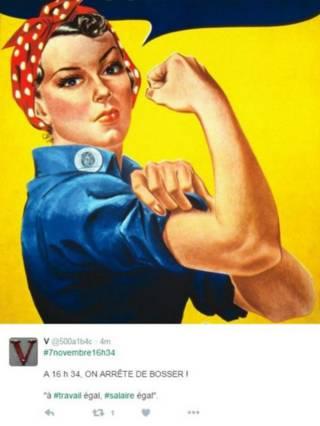 протети феміністок у франції за рівність зарплат