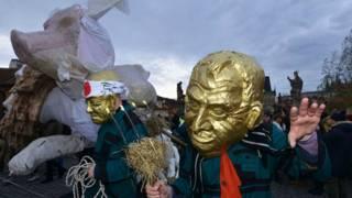 У Празі протестують на тлі святкувань річниці Оксамитової революції