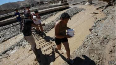 Secuelas del temporal en Atacama