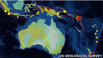 Fuerte sismo de 8.0 en las Islas Salomón - BBC News Mundo