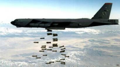 طائرات بي 52 رمز للقوة العسكرية الأمريكية Bbc News Arabic