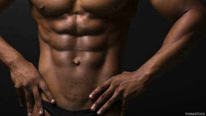 abdomen plano hombre casero