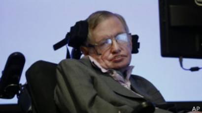 Stephen Hawking sufre la enfermedad de la motoneurona