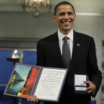 Ganaría Obama el premio Nobel de la Paz hoy? - BBC News Mundo
