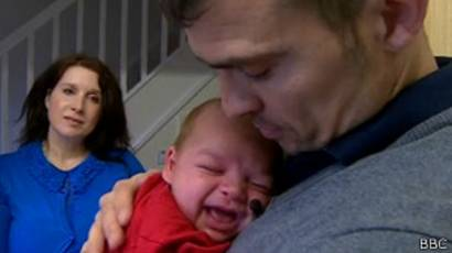 Chris Graham con su familia