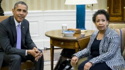 obama, loretta lynch, baltimore, eddie gray