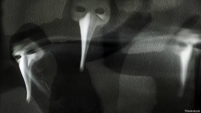 10 занятых на каимру привидений