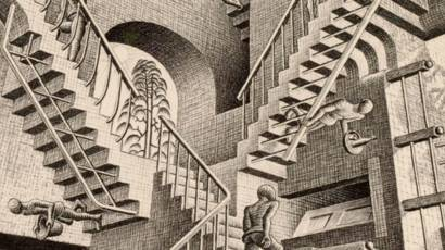 Mc Escher Teka Teki Di Balik Ilusi Bbc News Indonesia
