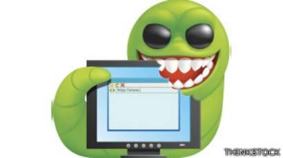 que hace un virus gusano informático