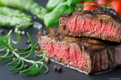 parásito de comer carne poco cocida