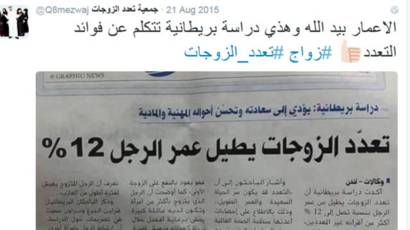 إشاعة تعدد الزوجات الإلزامي تبدأ في العراق وتصل إلى إريتريا