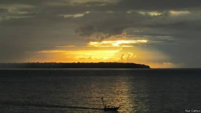Keindahan Langit Yang Berwarna Warni Di Mata Anda Bbc News