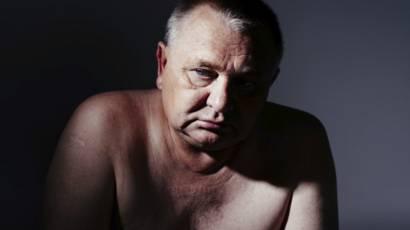 Video de cerca de ordeñar la próstata