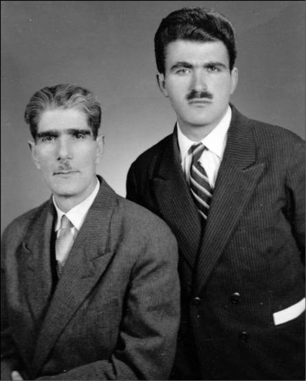 غلامحسین ساعدی و پدر