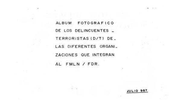 """Primera página del """"Libro Amarillo"""""""