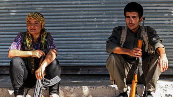 Kurdos de Kobane