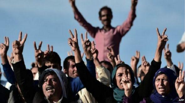 Kurdos celebran