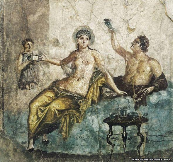 Imagen de tiempos romanos