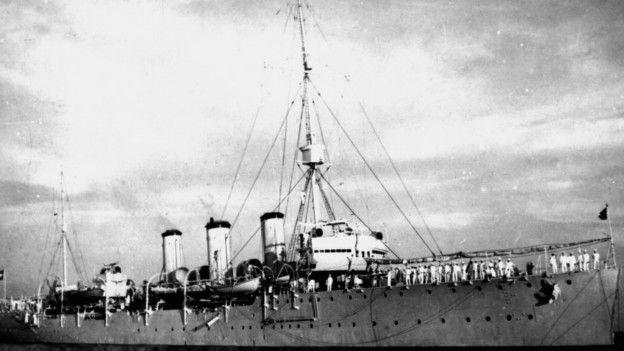 O cruzador Bahia
