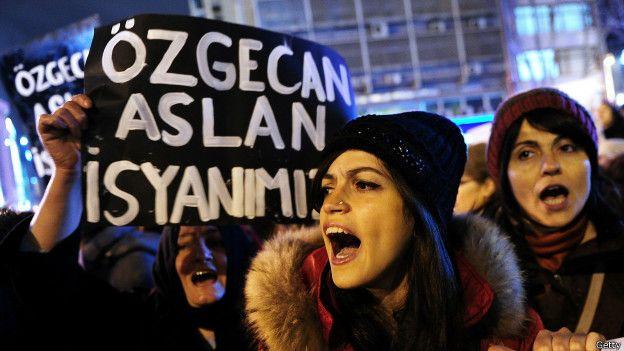 Protesto na Turquia | Foto: Getty