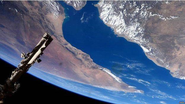 Las fotos ms bellas de la Tierra vista desde el espacio  BBC Mundo