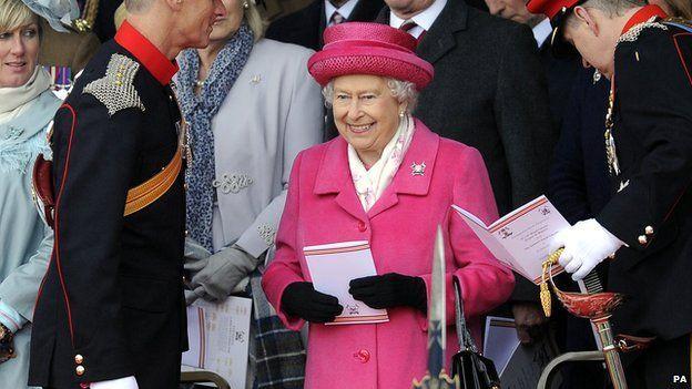 La reina Isabel