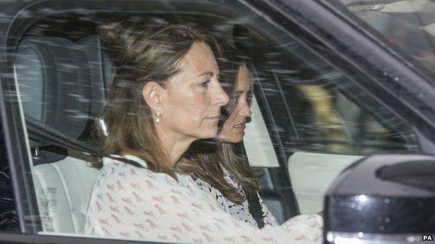 La madre y hermana de Kate