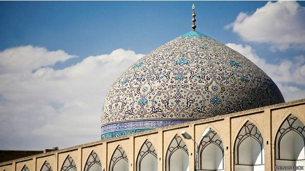 Mezquita de Sheikh Lotfollah, Irán