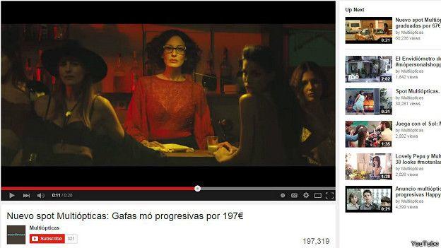 884f7db1c0 Las mujeres que asediaron ópticas madrileñas en ropa interior - BBC ...