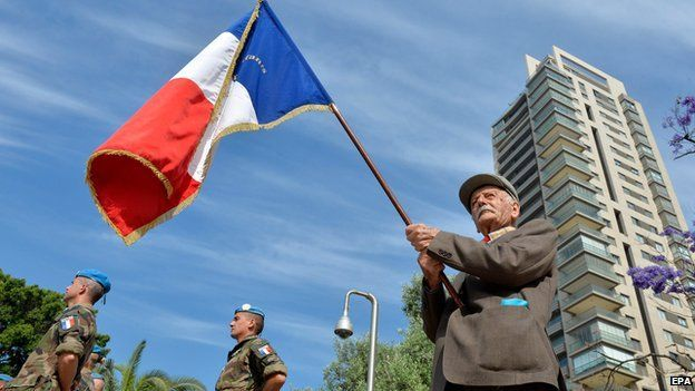 Veterano francés de la Segunda Guerra Mundial