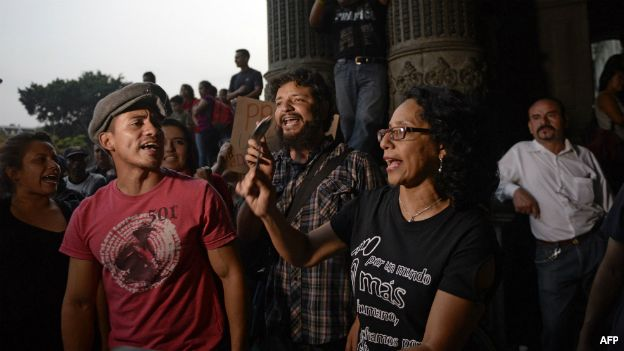 Festejos en Ciudad de Guatemala