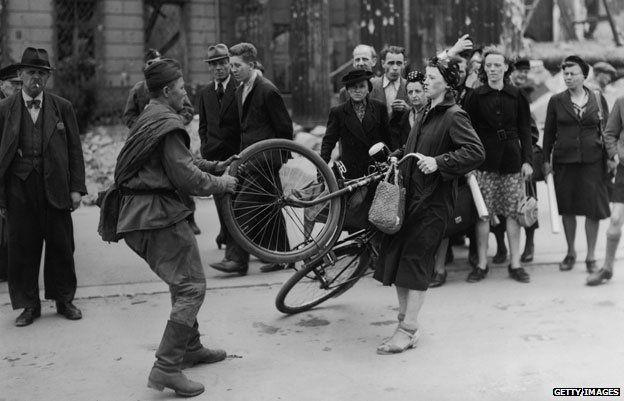 Берлин, 1945 год.