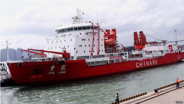 Bildresultat för china en la antartica