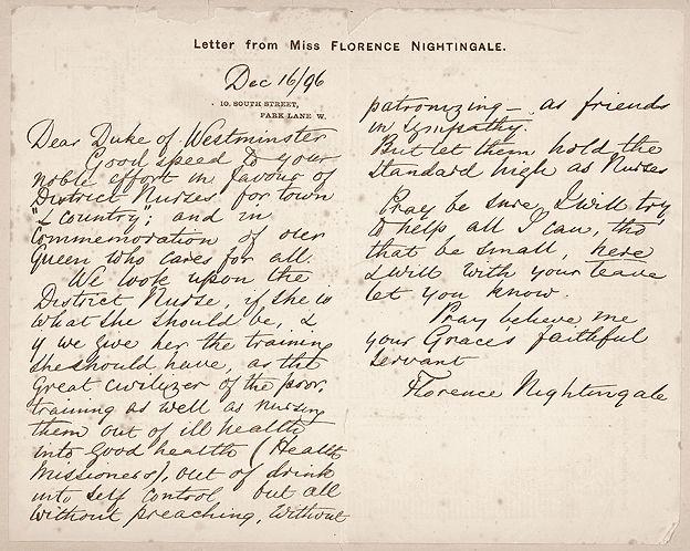 Florence Nightingale La Dama De La Lámpara Que Salvó Vidas Con Las