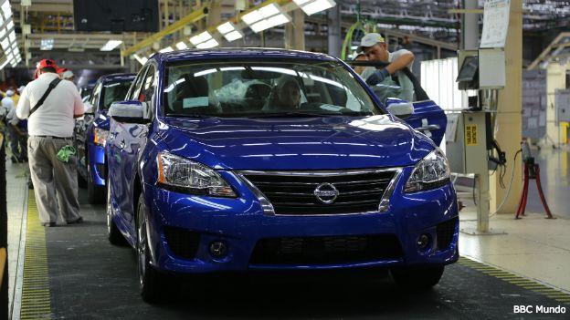 Planta de Nissan en Aguascalientes