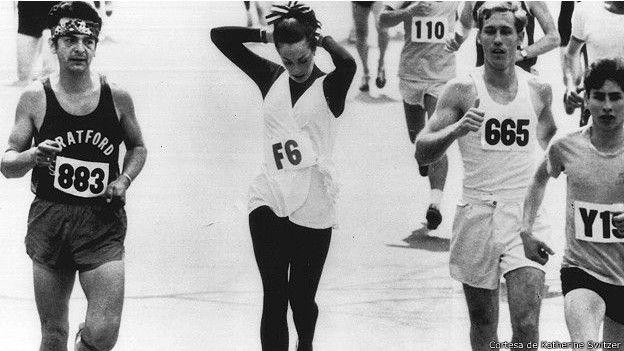 primera mujer que corrio maraton