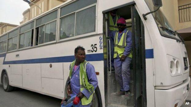 Trabajadores de Qatar 2022