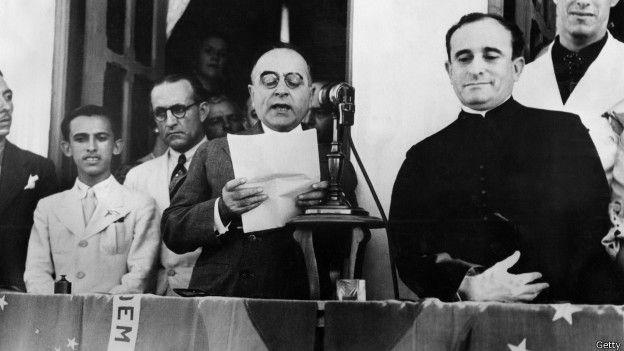 Getulio Vargas en una foto de 1937