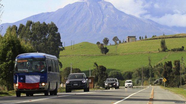 Carretera en Chile