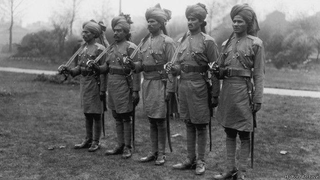 Войска из Индии во время Первой мировой войны