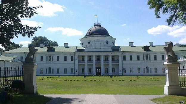 Палац у Качанівці повністю збережений