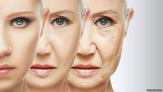 Mujer de joven y de anciana