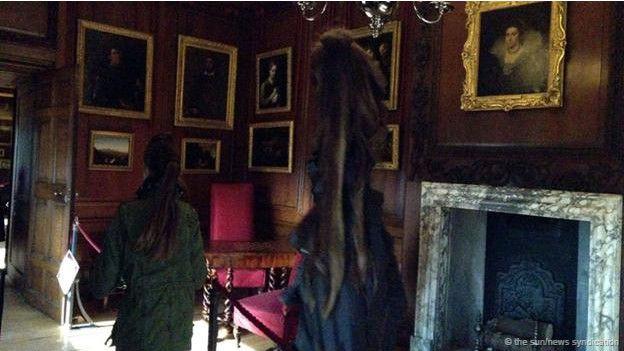 "La ""dama gris de Hampton Court"""