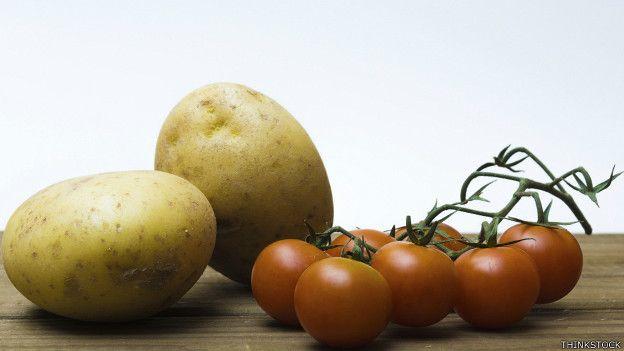 Papas y tomates