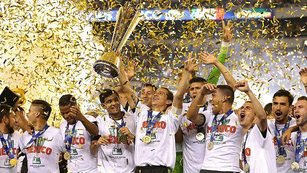 México ganó el domingo la Copa Oro