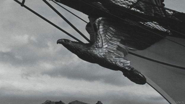 Mascarón del buque